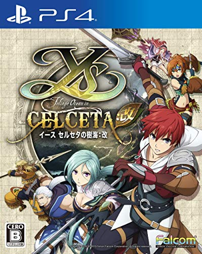 Falcom Ys Memories of Celceta - Kai SONY PS4 PLAYSTATION 4 JAPANESE VERSION [video game]