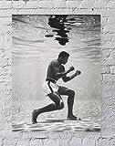 Avando Muhammad Ali Unterwasser-Boxen Sportposter