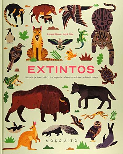 Extintos: Homenaje ilustrado a las especies desaparecidas recientemente
