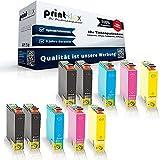 10x Kompatible Tintenpatronen für Epson Stylus Office B42WD BX305F BX305FW BX305FWPlus BX320FW BX525WD BX535WD BX625FWD BKCMY Sparset