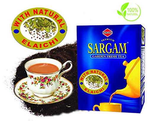 Duncans Sargam Elaichi (Cardamom) Tea -250 gm (Pack of 2)