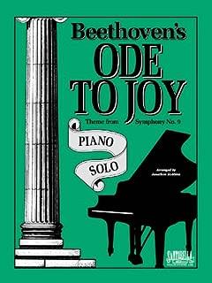 Ode To Joy For Intermediate Piano Solo