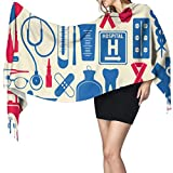 geckor Outils de soins infirmiers couverture écharpe pour femmes hommes hiver Voyage épais voyage chaud Wrap châle foulards cadeau de Noël pour mère petite amie sœur