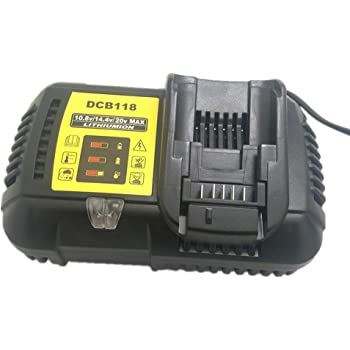 New DCB112 Li-Ion Battery Charger 14.4V 18V 20V for Dewalt DCB101 DCB200 BG BG