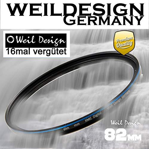 Graufilter ND Filter 1000 weildesign 82mm Slim XMC Digital Weil Design Germany * 10 Blendenstufen * Frontgewinde * 16 Fach XMC vergütet * inkl. Filterbox (ND1000 82mm)