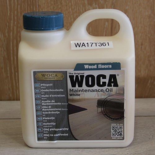 Pflegeöl Weiß 1,0 Ltr - WoCa Woodcare