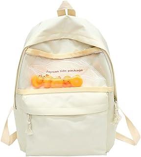 Leng QL Personality Backpacks Cartoon Leisure Schoolbag Cute Duck Funny Backpack Casual Rucksack