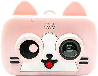 PCXJ Cámara fotográfica para niños cámara Digital Dibujos Animados cámara de Dibujos Animados WiFi un Solo Clic Compartir Imagen Regalo de JuguetePink