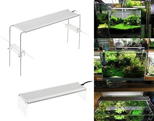 takestop® plafondlamp dee-45 18 W uittrekbaar 36 LED's voor aquarium zout water Marina zee badkuip verstelbaar 45-60 cm