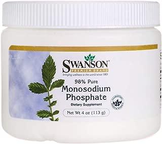 Swanson 98% Pure Monosodium Phosphate 4 Ounce (113 g) Pwdr