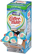 Coffee-mate 91757 Sugar-Free French Vanilla Creamer, 0.375oz, 50/Box