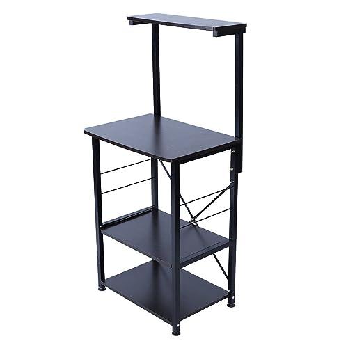 UNE BONNE(ウネボネ) レンジ台 レンジ キッチン器具 収納 おしゃれ シンプル 使い分け 収納スペース WALNUT