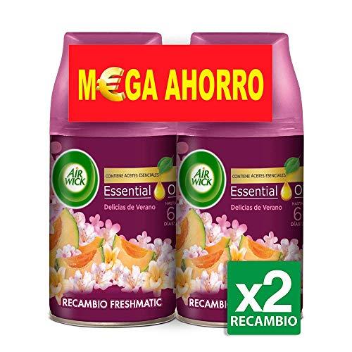 Air Wick Life Scents Delicias de Verano Ambientador Freshmatic Recambio Duplo - 500 ml