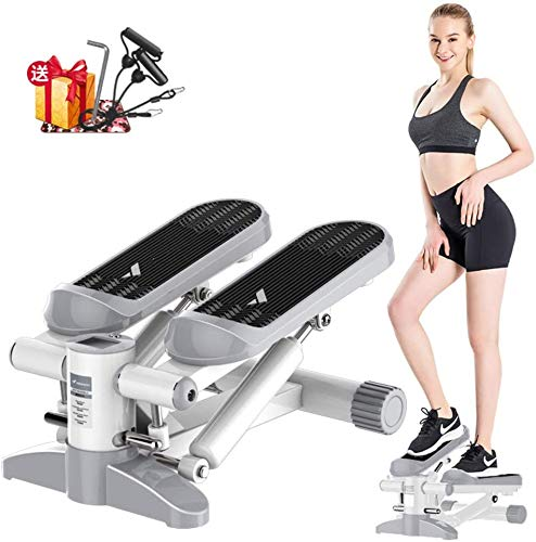 Learn More About LSYOA Mini Fitness Swing Stepper, Twist Cardio Stair Stepper with LCD Display and R...