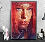 brandless Poster Das Fünfte Element Sci-Fi-Film Bruce