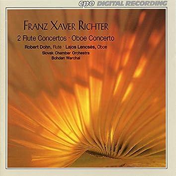 Richter: 2 Flute Concertos & Oboe Concerto