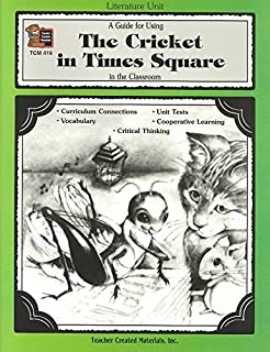 [(A Guide for Using the Cricket in Times Square in the Classroom)] [By (author) Susan Onion ] published on (January, 1993)