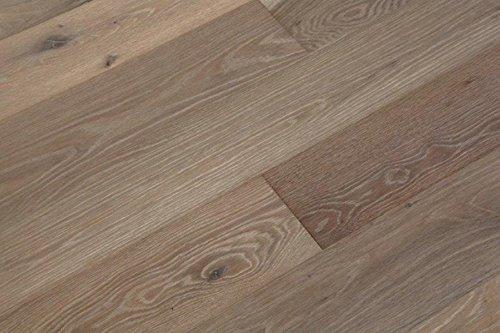 Parquet europea. In legno di rovere, Click di connessione, leggero lavorate, oxidativ Bianco oliato, sbiancato, spazzolato, 14X 180X 1800mm