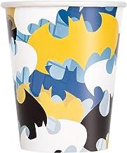 Unique Party 77516 9oz Batman Paper Cups, Pack of 8