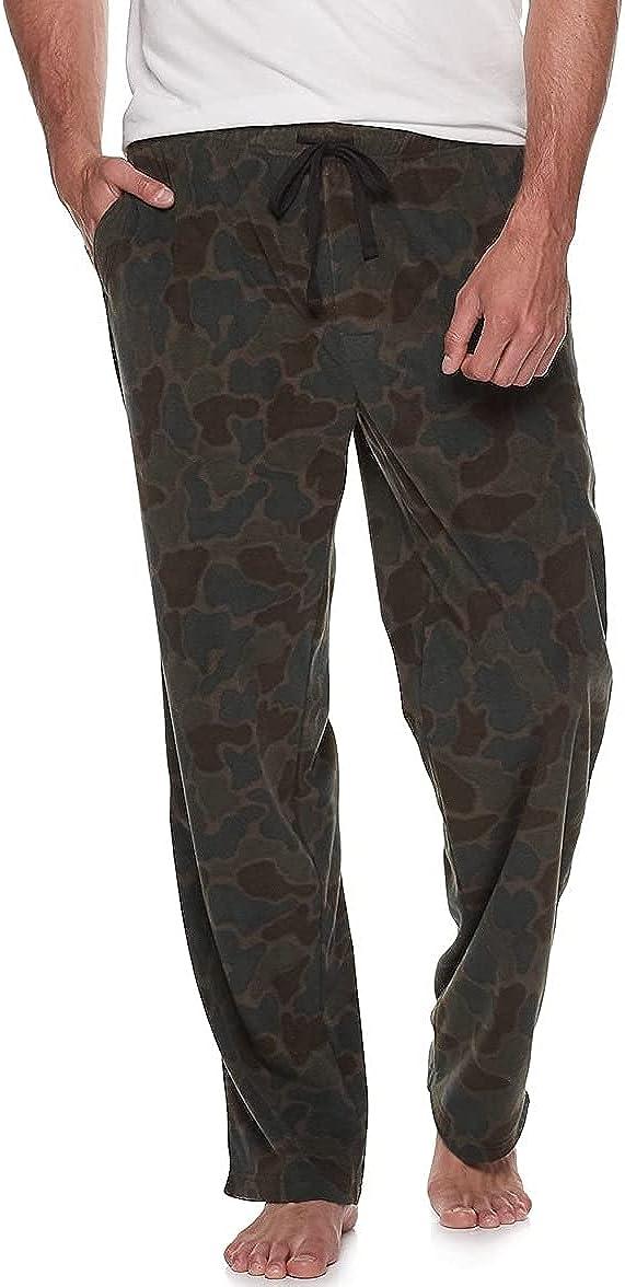 Croft & Barrow Big and Tall Men's Fleece Lounge Sleep Pajama Pants