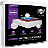 Best Bed Bug Mattress Covers - Degrees of Comfort Zippered Twin Size Bed Bug Review