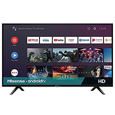 Hisense 32-Inch 32H5500F Class H55 Series Android Smart TV with Voice Remote (2020 Model) from Hisense
