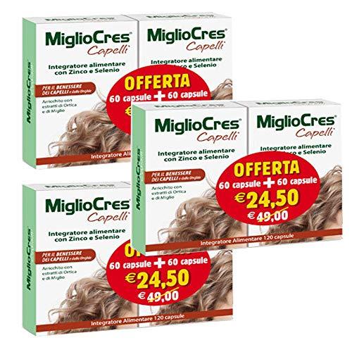 MIGLIOCRES 60+60 capsule OFFERTA SPECIALE (3 Confezioni da 60+60 Capsule)