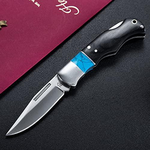 Hobby Hut HH-F35, Taschenmesser aus Edelstahl, Klappmesser, Jagdmesser, Edelstahl 3Cr13, Edelstahl