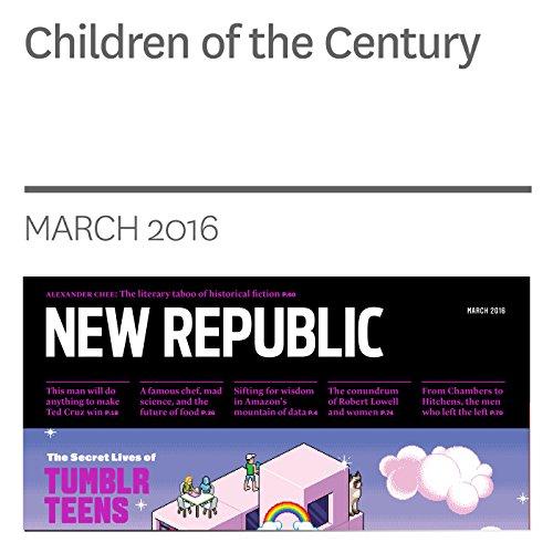 Children of the Century audiobook cover art