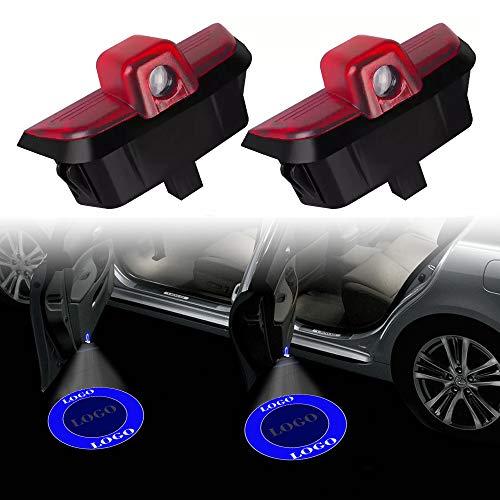 para Mercedes Benz W204 C200 C300 C280 C200 C C300 C280 C260 C Clase Logo Logotipo Luz Ligera Proyecto de Láser Ghost Sombra Bienvenido Lámpara Linterna Luces Luces Luces de Bienvenida