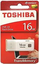Toshiba USB3.0 Flash Drive 16GB Disk TransMemory U301 Hayabusa Stick (THN-U301W0160A4)