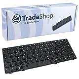 Trade-Shop Premium Tastatur Keyboard Ersatz Deutsch QWERTZ mit Trackpoint für HP EliteBook 6465 6465b 6460b 8460p 8460w (Deutsches Tastaturlayout)