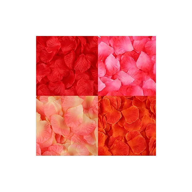 silk flower arrangements smylls 2000 pcs silk rose petals wedding flower decoration,assorted colors for wedding party and valentine's day