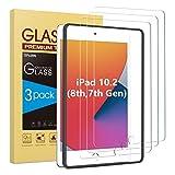 SPARIN [3 Stück] Panzerglas Schutzfolie für iPad 10.2 (iPad 8./7. Generation) /iPad Air 3 10.5 zoll /iPad pro 10.5 zoll, Glas Panzerglas Bildschirmschutzfolie, Montagerahmen