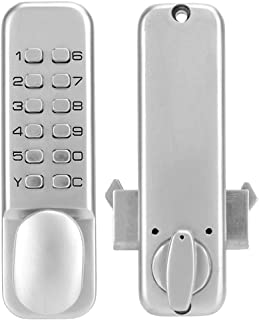 1-11 Digits Sliding Door Password Lock, Digital Mechanical Password Door Lock, Home/Hotel/Office Sliding Door Mechanical Code Lock for Kitchen/Balcony