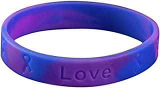 stroke awareness silicone bracelet