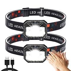 Stirnlampe LED,2 Stück
