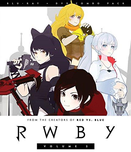 Rwby Volume 2 (2 Blu-Ray) [Edizione: Stati Uniti] [Italia] [Blu-ray]
