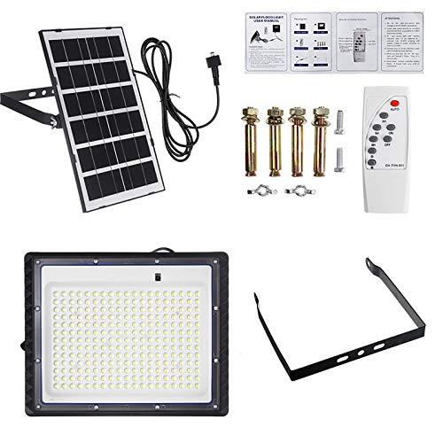 Solar LED Flood Light, Solar Spotlight, Outdoor IP65 Waterproof Landscape Lighting With Remote Control, 100W 150W 300W 400W Solar Light(Size:100W 77LEDs)