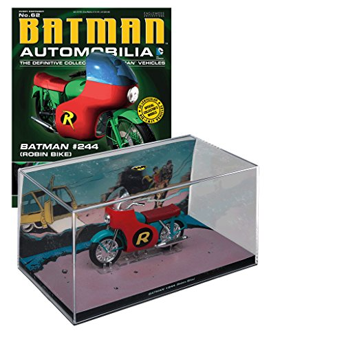 dc comics Batman Automobilia Collection Nº 62 Batman #244 Robin Bike