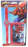 TDL Marvel Spiderman Set Regalo Orologio + Portafoglio - Licenza Ufficiale -Watch & Wallet