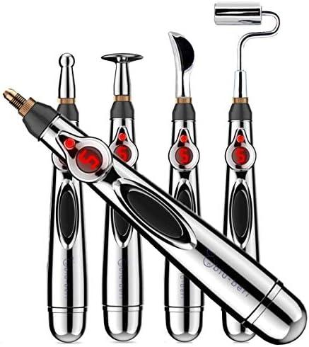 blu beri 5 Head Acupuncture Pen Meridian Energy Massage Pen Electronic Acupuncture Pen Muscle product image