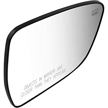 DNA Motoring OEM-MG-0434 96366ZH00A OE Style Driver//Left Mirror Glass