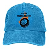 DRXX I Piss Excellence Unisex Soft Casquette Cap Vintage Ajustable Retro Sombreros...
