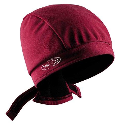 Stall-Mütze mit Bändern | schützt zuverlässig vor Stallgeruch | für jede Frisur und Haarlänge geeignet (rot, S)