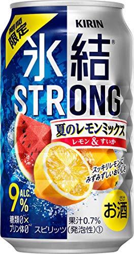 キリン 氷結ストロング 夏のレモンミックス [ チューハイ 350ml×24本 ]