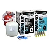 DAP 7565002600 Touch 'n Seal 600 BF Low GWP 1.75 PCF FR ICC Closed Cell Spray Foam Insulation Kit with Pre-Connected Hoses