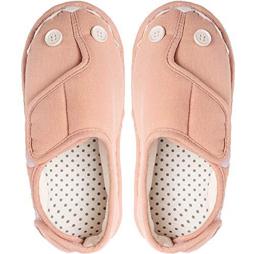 [Sanaris] ルームシューズ 高齢者 介護シューズ 女性 リハビリシューズ 軽量 介護用靴 介護用のスリッパ 介護靴 女性用 室内履き 滑り止め