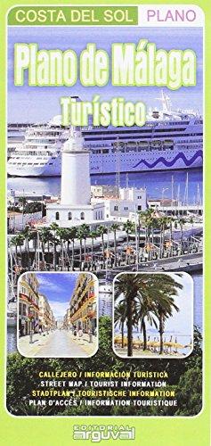 Plano de Málaga. Turístico