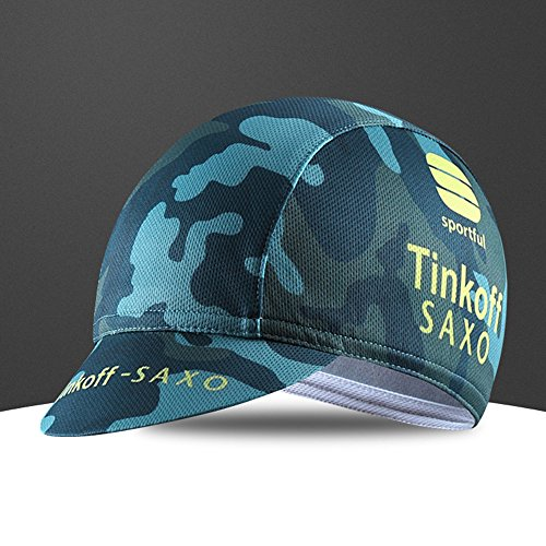 Team wear Riding Hats Men Cycling Bike Bicycle Cap MTB hat Cycling caps Outdoors Breathable Anti sweat Sun proof Cycling cap (Color B)